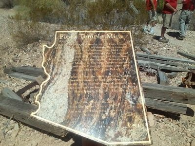 Flora Temple Mine Marker image. Click for full size.