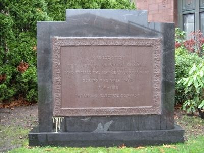 Bryant Electric Company World War I Monument image. Click for full size.