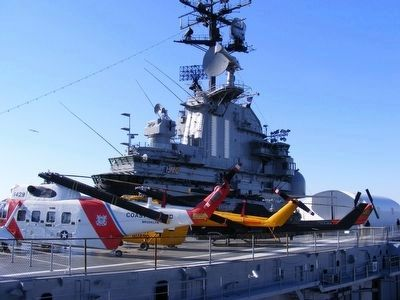 USS Intrepid-on the deck image. Click for full size.