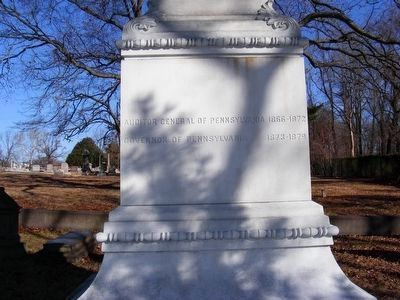 Hartranft Monument (left) image. Click for full size.