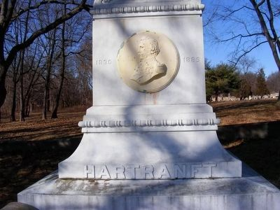 Hartranft Monument (front) image. Click for full size.