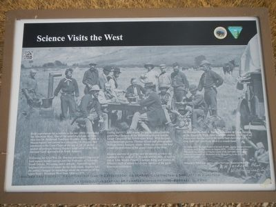 Science Visits the West Marker image. Click for full size.