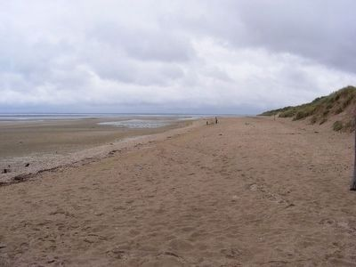 Utah Beach-so calm now image. Click for full size.