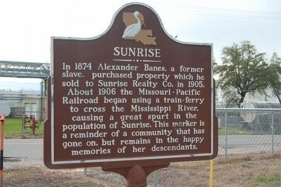 Sunrise Marker (Side A) image. Click for full size.