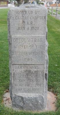 Oregon Trail Marker image. Click for full size.