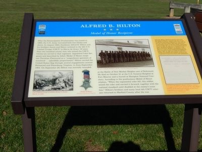Alfred B. Hilton Marker image. Click for full size.