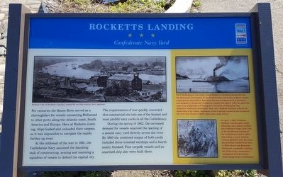 Rocketts Landing Marker image. Click for full size.