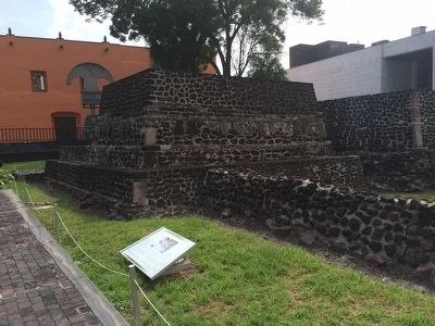 Full color Tlatelolco: The temple of the paintings Marker image. Click for full size.