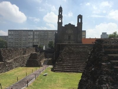 Templo Mayor: a temple built eight times Marker image. Click for full size.