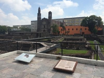 Tlatelolco: a well-planned city Marker, on the left image. Click for full size.