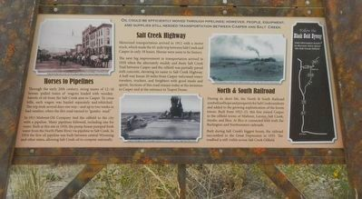 "Casper: ""The Oil Capital of the Rockies"" Marker, bottom panel image. Click for full size."