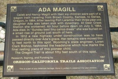 Ada Magill Marker image. Click for full size.