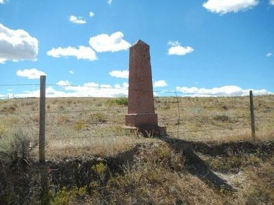 Junction of the Oregon Trail Marker image. Click for full size.