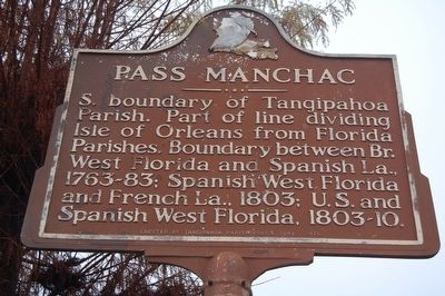 Pass Manchac Marker image. Click for full size.