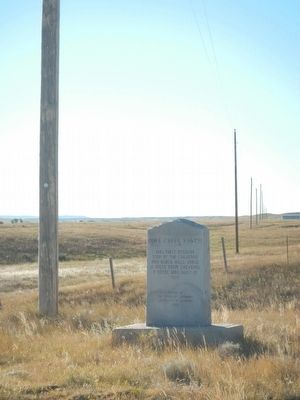 Pole Creek Ranch Marker image. Click for full size.
