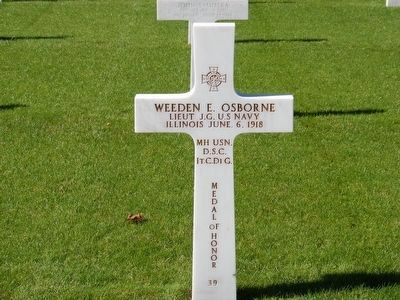 Weeden E. Osborne-Medal of Honor Recipient image. Click for full size.