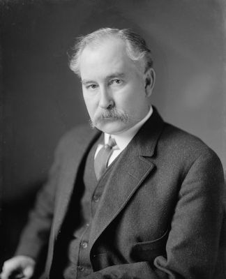 Secretary of the Interior Albert B. Fall image. Click for full size.