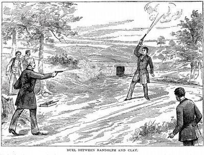 Duel Between Randolph and Clay image. Click for full size.