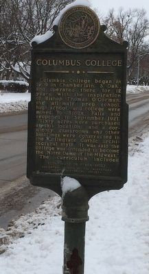 Columbus College Marker image. Click for full size.