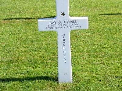 Day G. Turner-Medal of Honor Recipient World War II image. Click for full size.