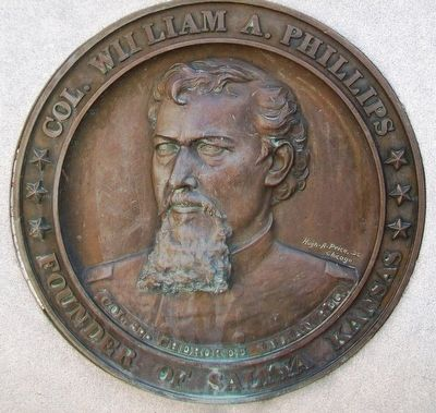 Col. William A. Phillips Medallion image. Click for full size.