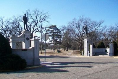 Oakdale Memorial Gateway image. Click for full size.