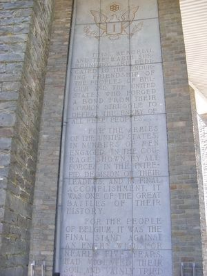 Memorial du Mardasson image. Click for full size.