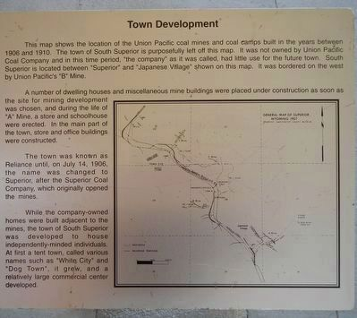 Town Development Marker image. Click for full size.