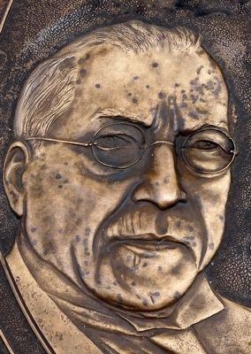 Samuel Gompers image. Click for full size.