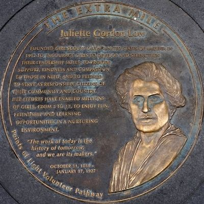 Juliette Gordon Low Marker image. Click for full size.