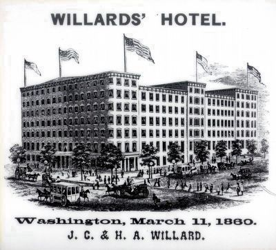 Willard's Hotel image. Click for full size.