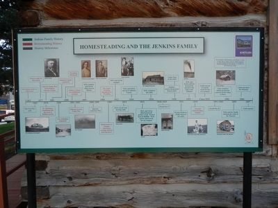 Homesteading and the Jenkins Family Marker image. Click for full size.