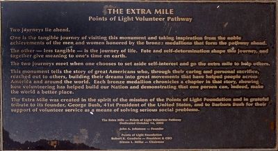 The Extra Mile Marker image. Click for full size.