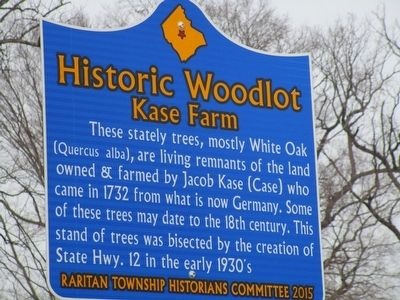 Historic Woodlot Marker image. Click for full size.