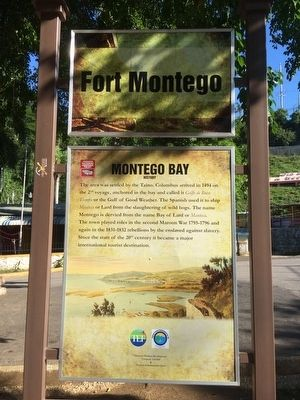 Montego Bay History Marker image. Click for full size.