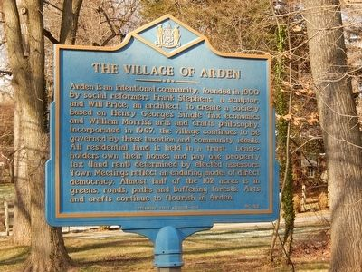 Village of Arden Marker image. Click for full size.