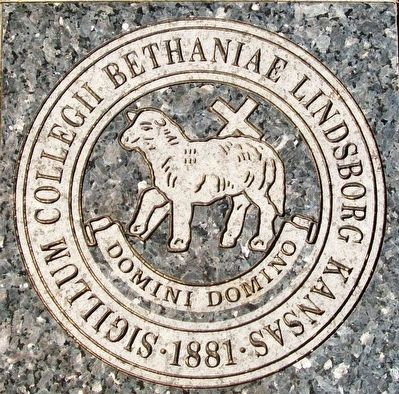 Bethany College Seal image. Click for full size.