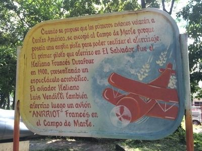 First Flights to El Salvador Marker image. Click for full size.