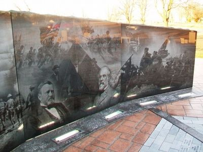 Chanute Area Veterans Memorial image. Click for full size.