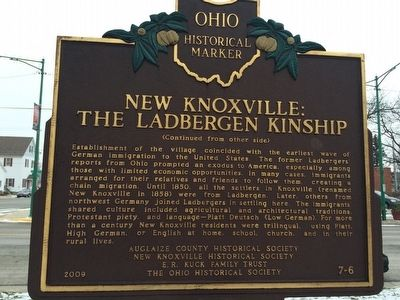 New Knoxville: The Ladbergen Kinship Marker image. Click for full size.