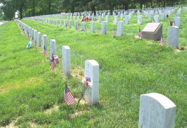 Fort Leavenworth National Cemetery image. Click for full size.