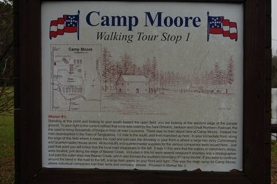 Camp Moore #1 Marker image. Click for full size.