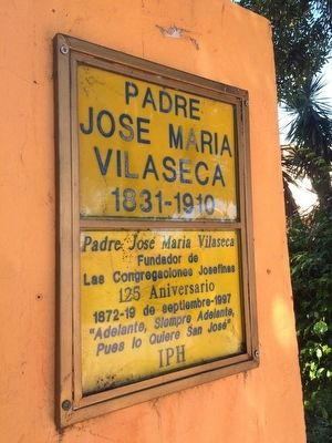 Father José María Villaseca Marker image. Click for full size.