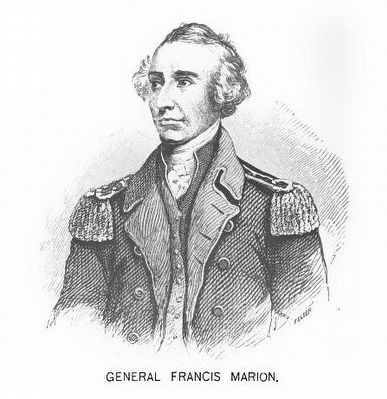 General Francis Marion (1732–1795) image. Click for full size.