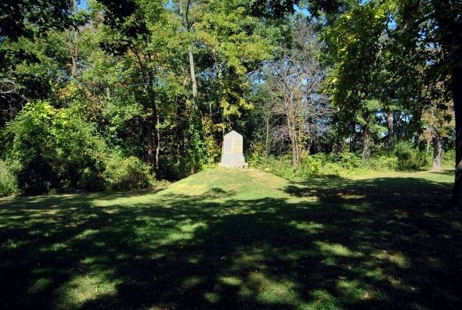 Death of Major Gen. John F. Reynolds Monument image. Click for full size.