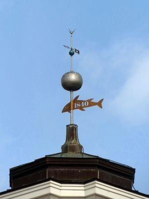 Frederick County Courthouse Weathervane image. Click for full size.