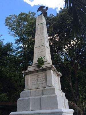 Monument to the Salvadoran Soldiers (south) image. Click for full size.