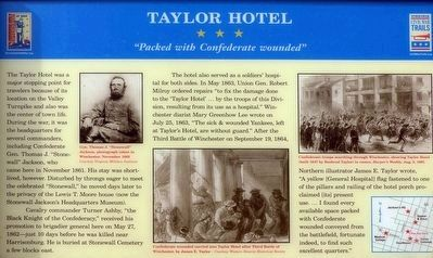Taylor Hotel Marker image. Click for full size.