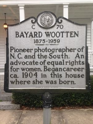 Bayard Wootten Marker image. Click for full size.