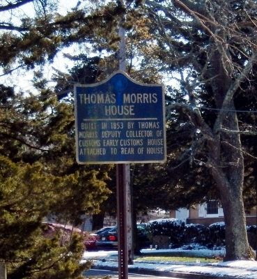 Thomas Morris House Marker image. Click for full size.